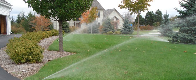Milwaukee Lawn Sprinkler will winterize an irrigation system to prevent freeze damage