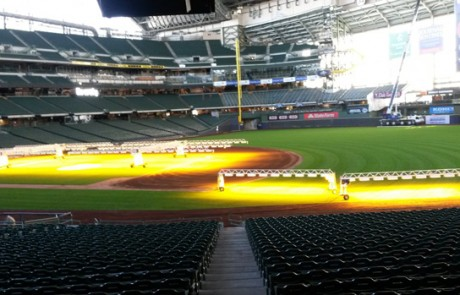 lawn care services for Miller Park stadium