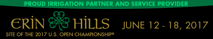Irrigation partner to Erin Hills - site of the 2017 U.S. Open Championship