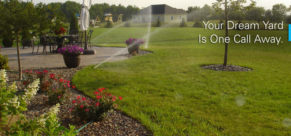 Call to install an irrigation system in your yard